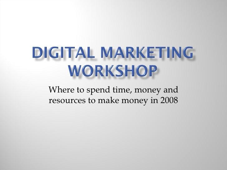 Digital Marketing2008