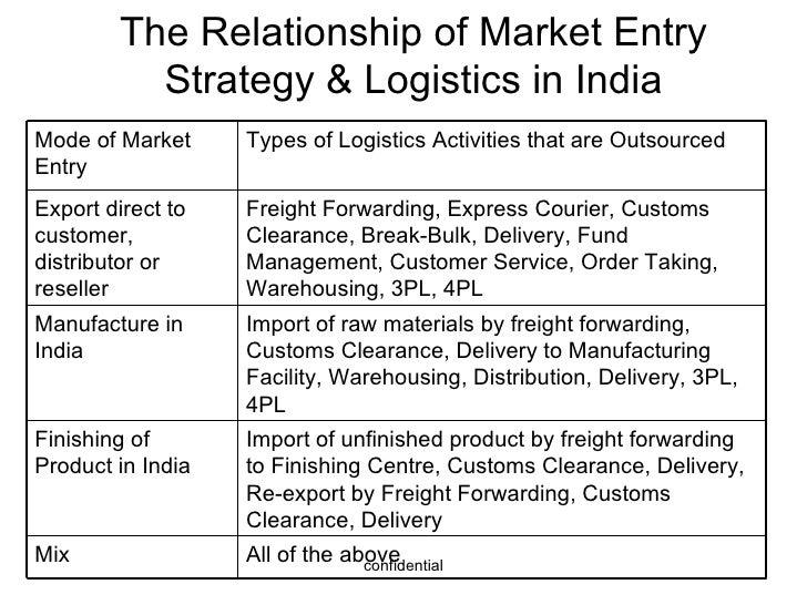 strategic plan for freight forwarding