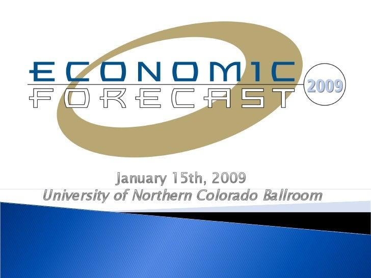 2009 Economic Forecast