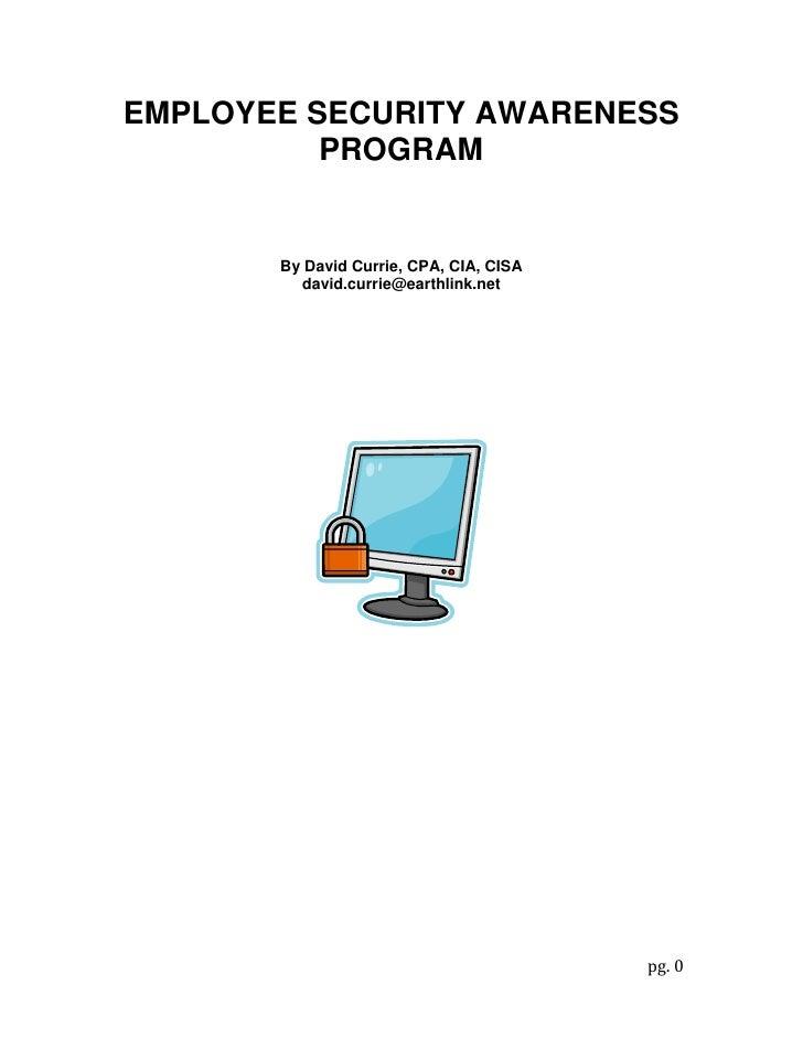 Employee Security Awareness Program