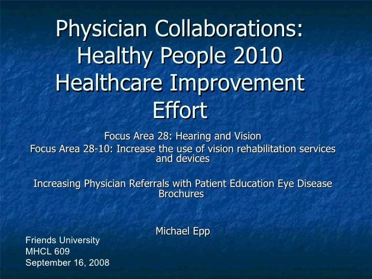 Eye Disease Brochures