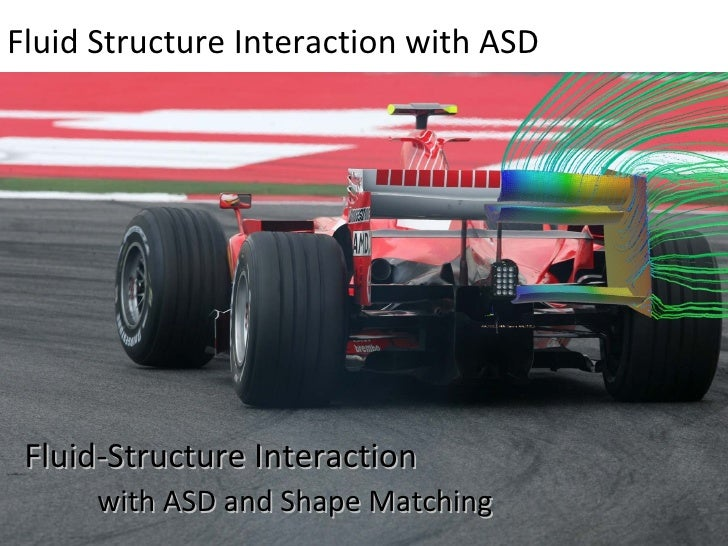Fluid Structure Interaction with ASD  Fluid-Structure Interaction with ASD and Shape Matching