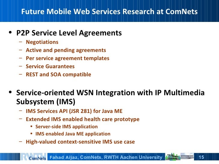 Research paper on future of web services
