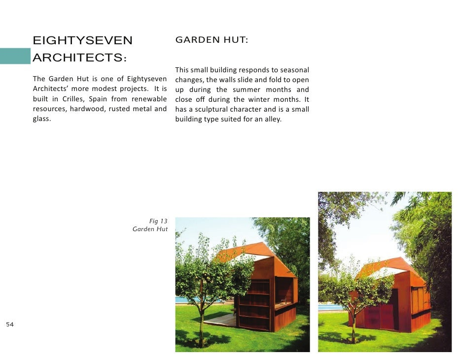 Architecture thesis synopsis sample