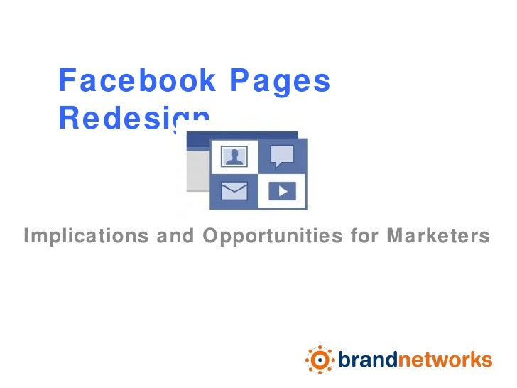Facebook Pages Redesign POV