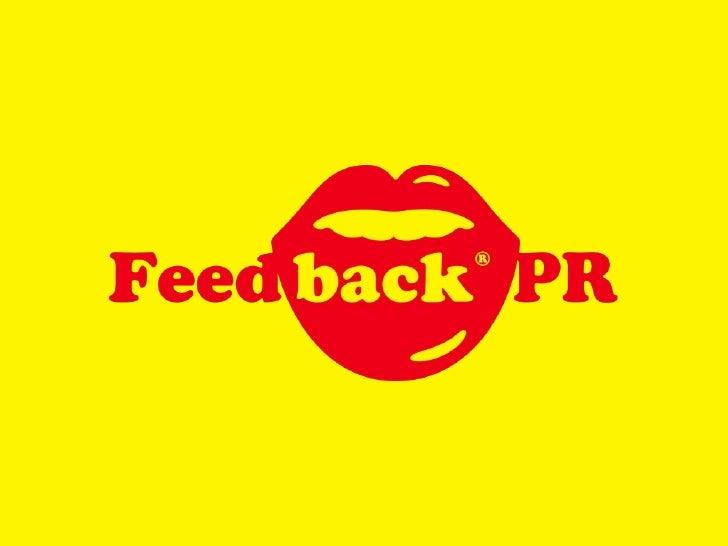 Feedback PR 2009