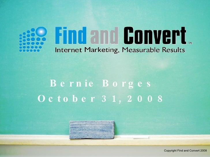 Find And Convert Tech Data 081031