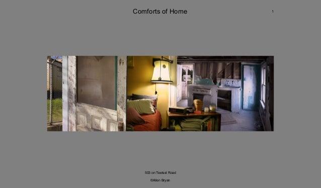 Fine Art Portfolio Comforts Of Home