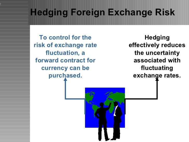 foreign exchange risk and hedging