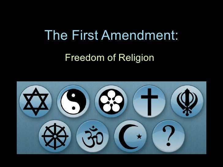 The First Amendment: Freedom of Religion