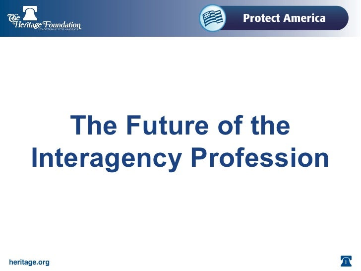 The Future of the Interagency Profession