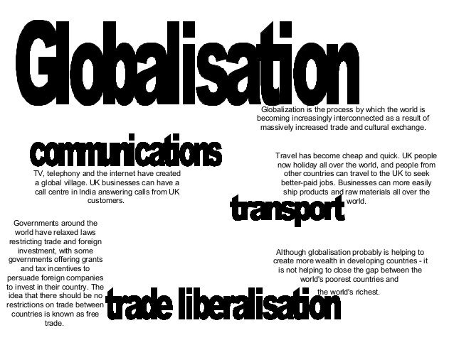 Essay Format Example for Globalization