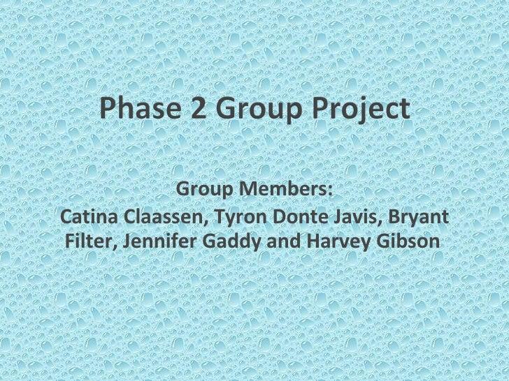 Group Project Economics