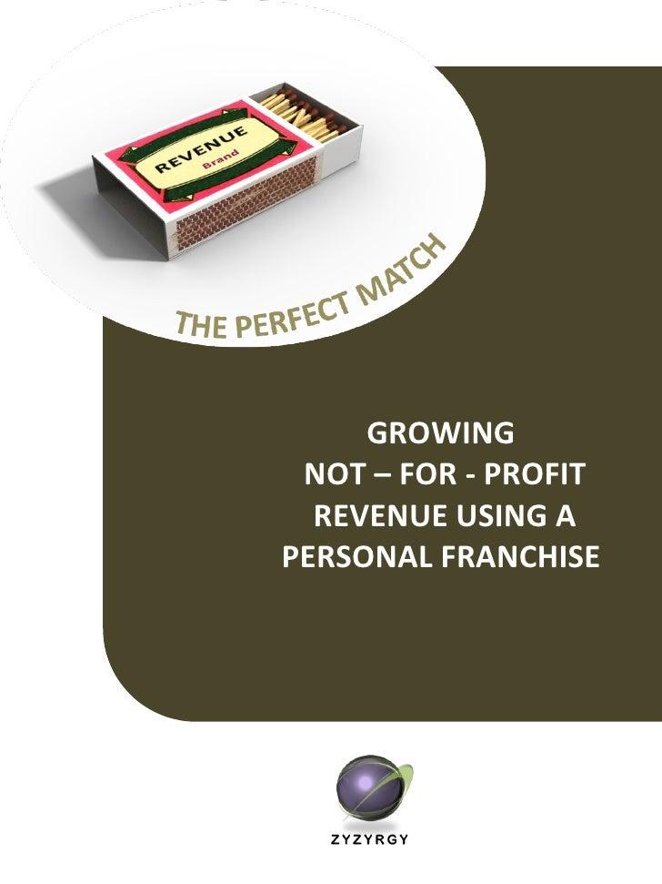 Growing Non Profit Revenue