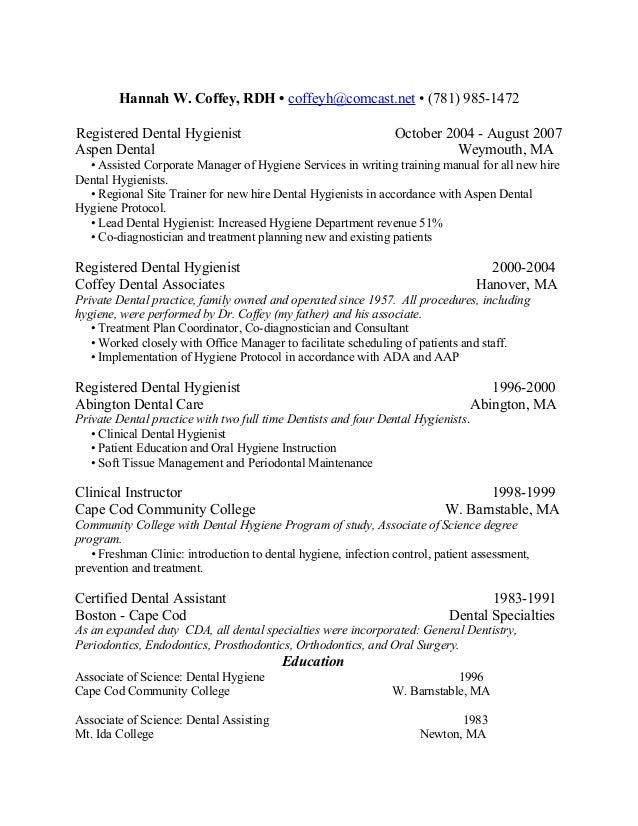 Hannah W. Coffey Resume 2009