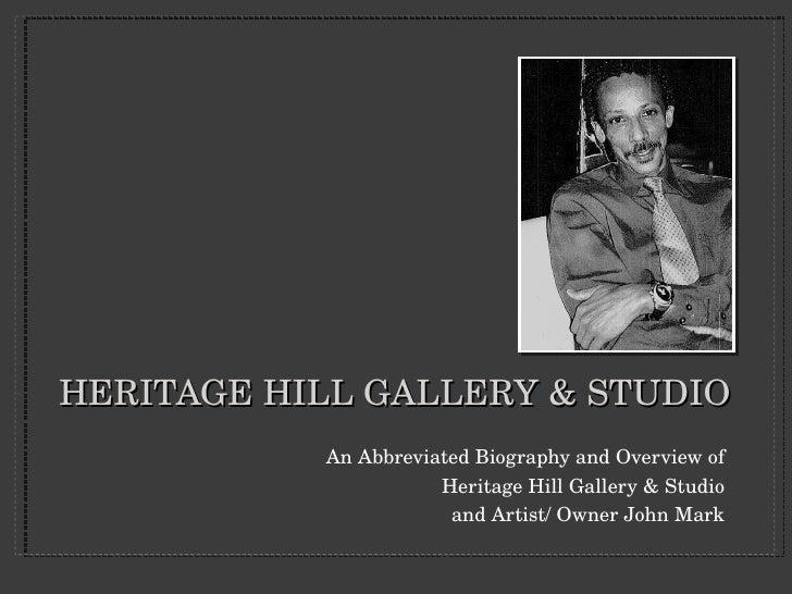 Heritage Hill Gallery & Studio Dl
