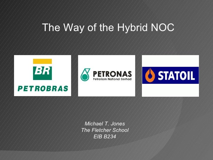 The Way of the Hybrid NOC Michael T. Jones The Fletcher School EIB B234