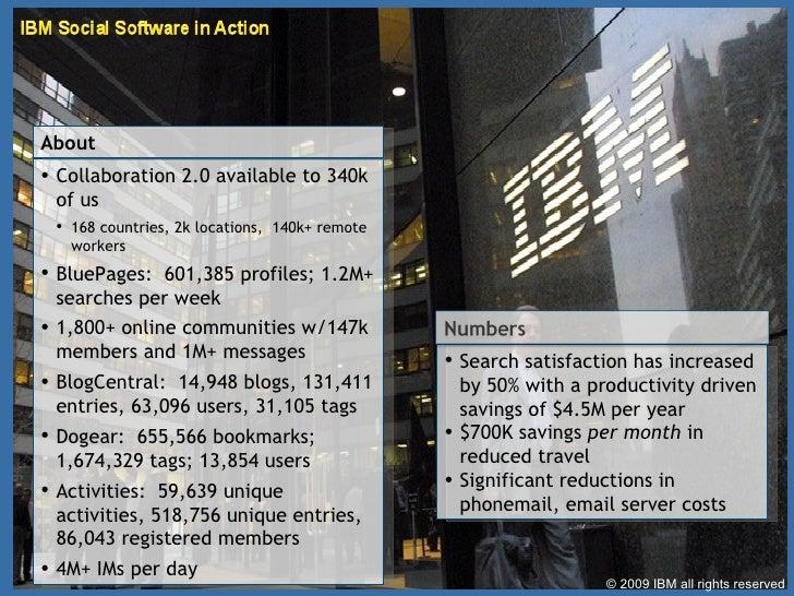 <ul><li>Collaboration 2.0 available to 340k of us </li></ul><ul><ul><ul><li>168 countries, 2k locations,  140k+ remote wor...