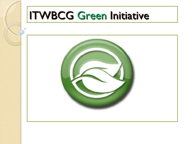 Office Green Initiative