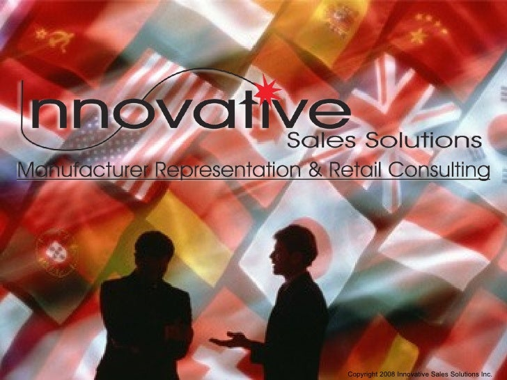 Innovative Sales Solutions Overview 2009 Nn