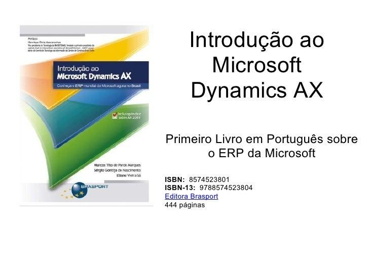 Introdução Ao Microsoft Dynamics Ax