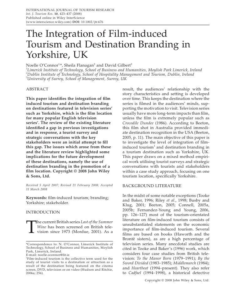 destination branding dissertation