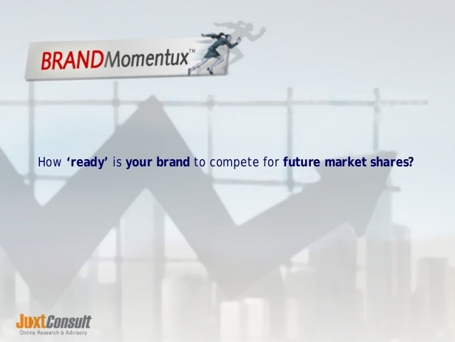 How 'ready' is your brand to compete for future market shares?