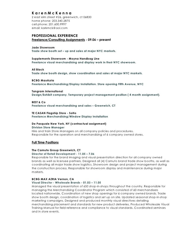 Merchandising Resume Examples Resume Examples 2017. Merchandiser ...