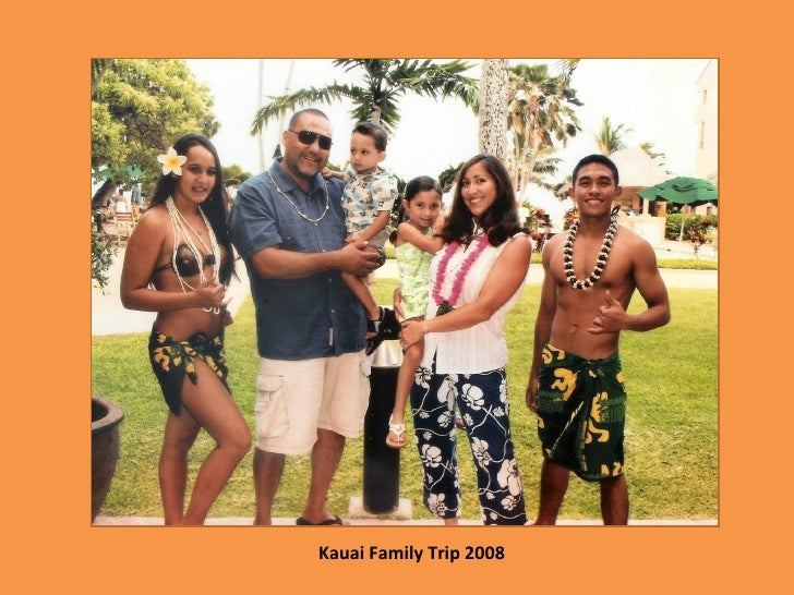 Kauai Family Trip 2008