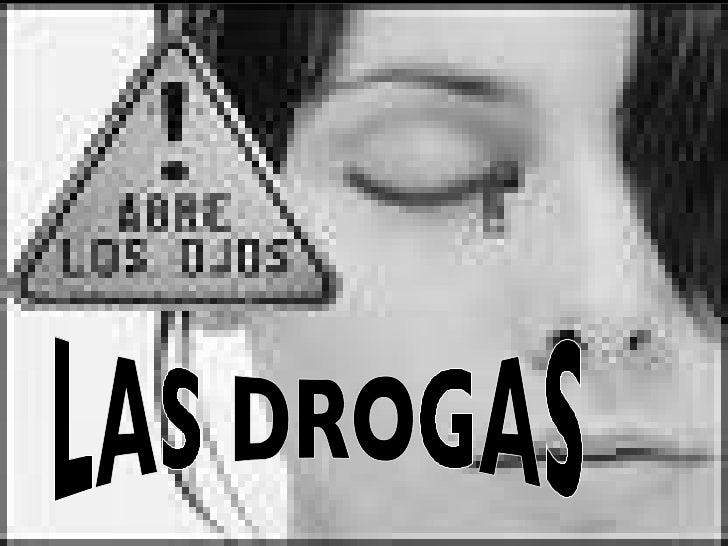 Las Drogas Diapositivas