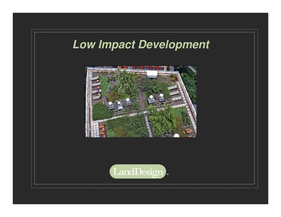 Low Impact Design