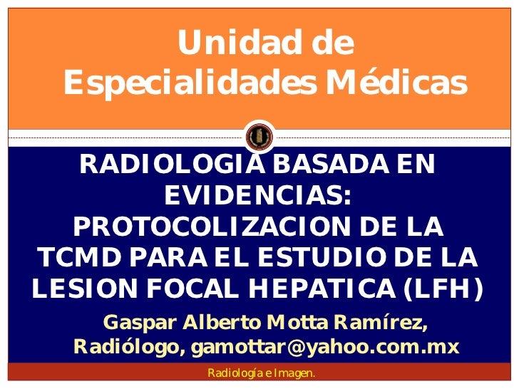 Lesion focal hepatica
