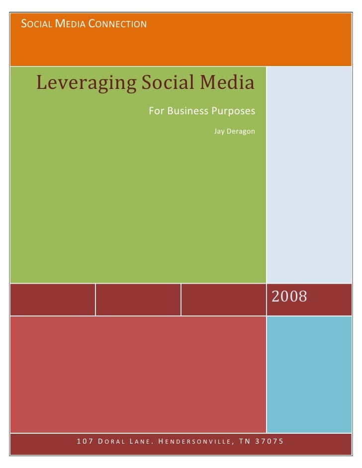 Leveraging Social Media For Business
