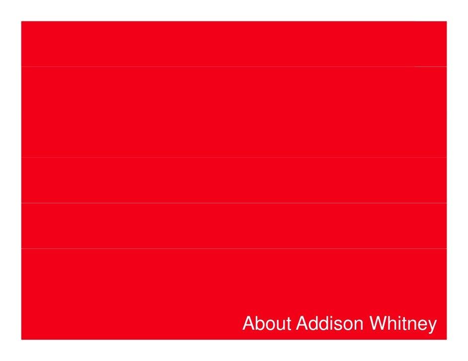 About Addison Whitney