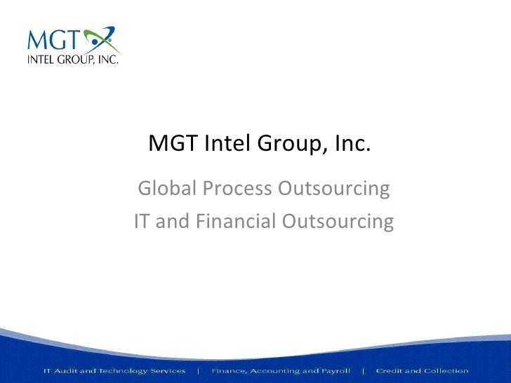 Mgt Global Process Outsourcing