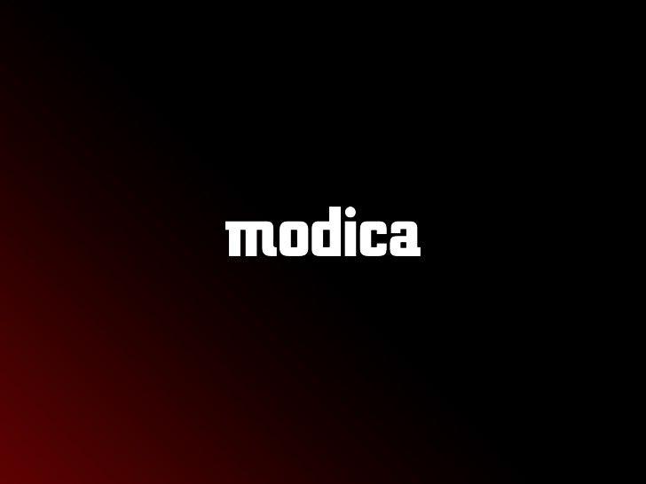 Modica Presentation