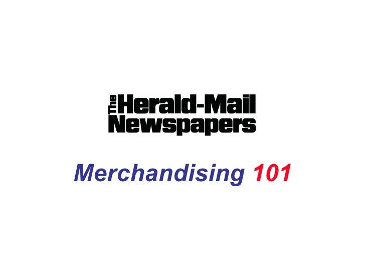 Merchandising Training