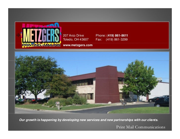 207 Arco Drive       Phone: (419) 861-8611                             Toledo, OH 43607     Fax: (419) 861-3299           ...