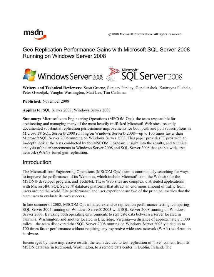 Microsoft White Paper