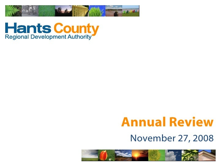 Annual Review November 27, 2008