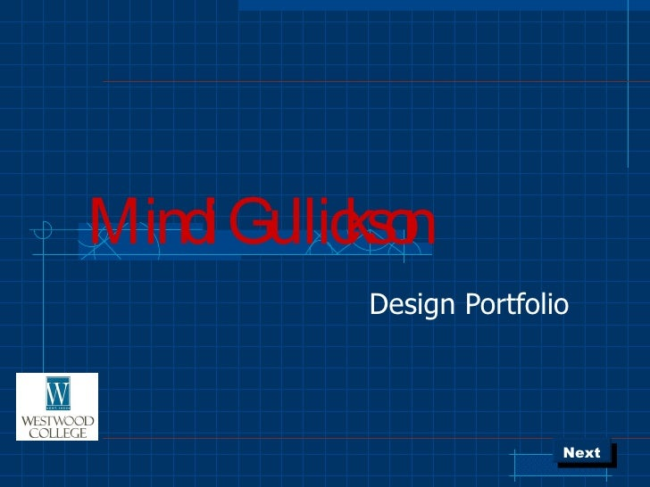 Mindi Gullickson Design Portfolio Next