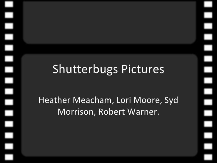Movie Reel Shutterbugs