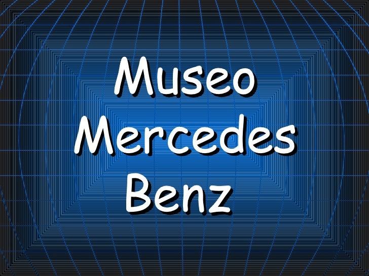 Musée de Mercedes Benz