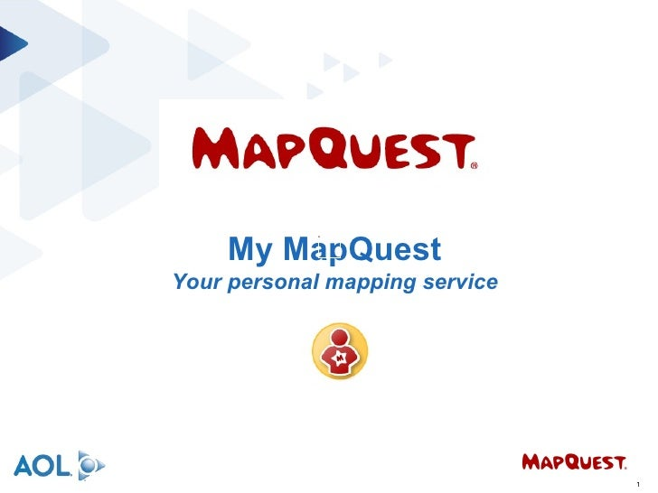 My MapQuest Your personal mapping service