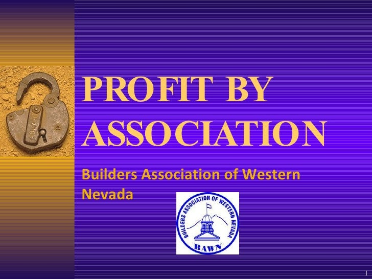 Nahb Associates Profit By Association02 11