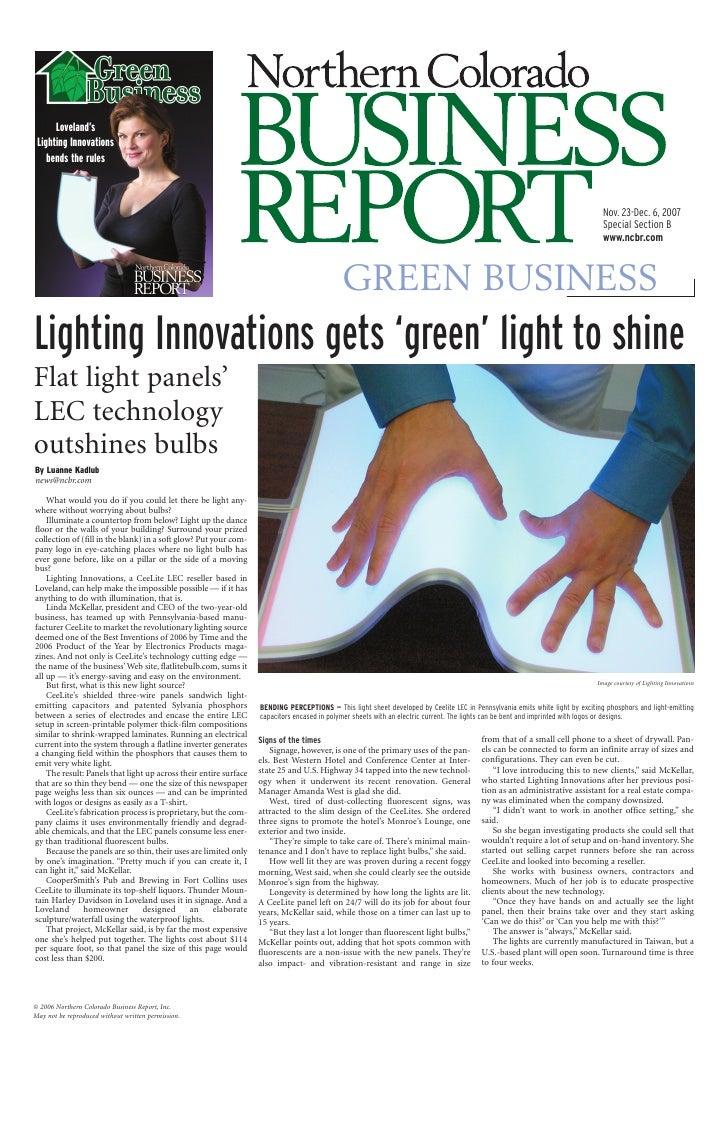 Loveland's  Lighting Innovations     bends the rules                                                                      ...