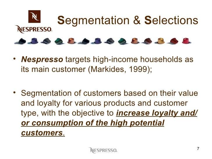 nespresso segmentation Automatic coffee machines market segmentation by product type- fully   market include keurig green mountain, inc, nestlé nespresso sa,.