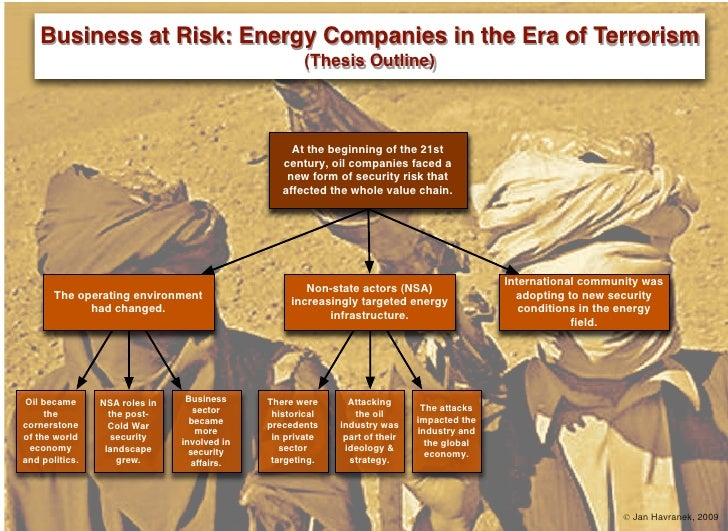 Business at Risk: Energy Companies in the Era of Terrorism                                                     (Thesis Out...