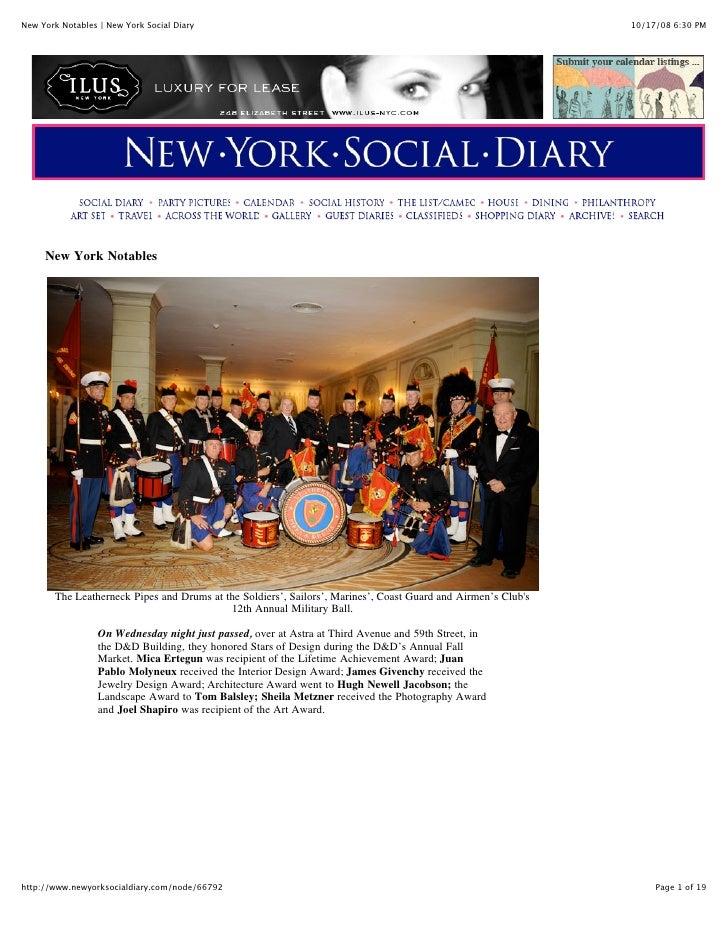 New York Social Diary