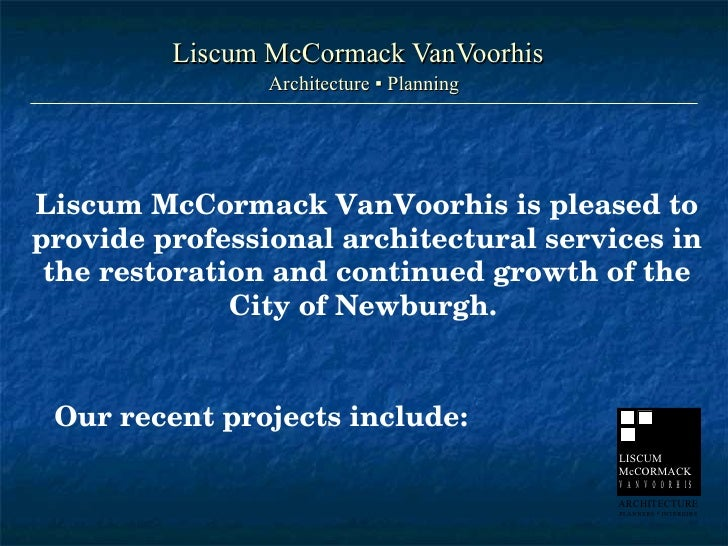 City of Newburgh Projects